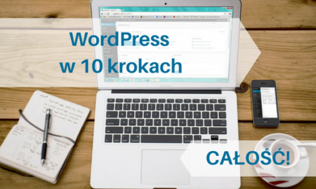 "Kurs ""WordPress w 10 krokach"" BASIC – 1 bonus"