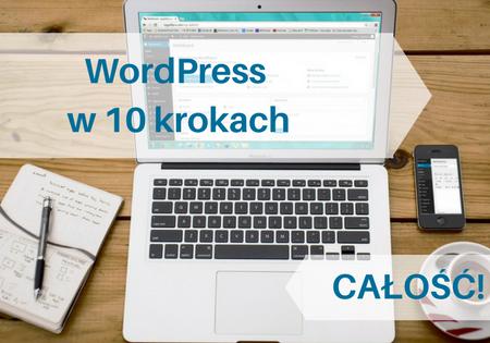 "Kurs ""WordPress w 10 krokach"" BASIC – 1 bonus"